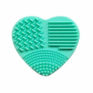 1 brosse de maquillage en silicone pour œuf de brosse de nettoyage en boîte de nettoyage outil de gommage œuf