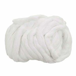 Beaupretty Ruban jetable en coton absorbant l'eau de bobine de coton pur pour nettoyer l'accessoire pour cheveux