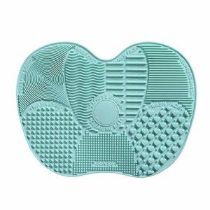Brosse de nettoyage de la couleur de la brosse de maquillage de la beauté de la brosse en silicone de gommage de tampon durable de la beauté de la brosse de nettoyage outil