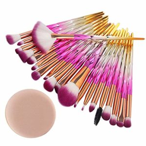 Cebbay Pinceaux Maquillage Cosmétique Professionnel Cosmetic 20pcs Set/Kit Cosmétique Brush Beauté Maquillage Brosse Makeup Brushes Cosmétique Fondation
