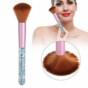 Dégradé couleur cheveux cristal manucure ongles art poussière pinceau beauté maquillage trousse à outils(2#)