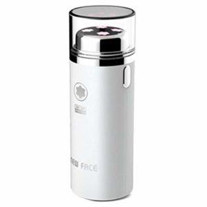 [ElraOEM] Nouveau visage Galvanic Micro Vibration Ion peau Massager EFM 2500 Blanc