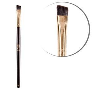 Gaya Cosmetics Pinceau de Maquillage pour les Yeux et Sourcils Biseaute – Pinceau B2 Professionnel de Maquillage Vegan