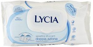 Lycia Lot de 64 lingettes pour peau normale