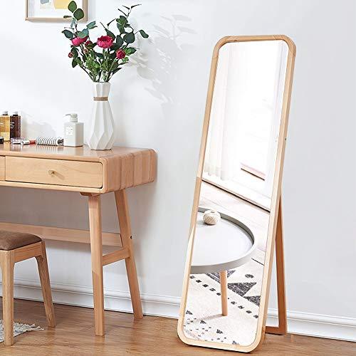 Miroir debout libre, grand miroir amincissant le miroir de montage allongé de miroir de beauté de beauté de corps amincissant le spécial 46 * 160cm 46 * 160cm Miroirs en pied0605 (Color : A)