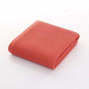 Serviette De Plage Solide De Serviette De Bain De Coton Pour L'antibactérien Absorbant élevéépais Doux à Séchage Rapide Unisexe,Red-140 * 68cm