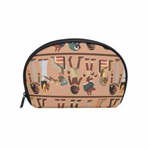 TIZORAX – Trousse de Maquillage égyptienne Totem de Voyage Pratique pour Femme et Fille