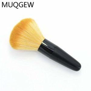 VHJVBN Professionel 1 Pc Cosmétique Maquillage Simple Blush Brosse De Toilette Poudre Libre Fondation Liquide Fard À Joues Contour Concealer Brosse Make Up Outil