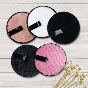 YB-DD Houppette, 5Pcs / Set Maquillage Couleurs Mixtes Fond de Teint Poudre BB Cream Coussin d'air Puff cosmétiques, Outil de Maquillage pour Le Corps du Visage