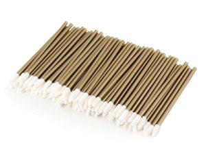 100Unicorn Lashes–Bâtonnets de nettoyage pour extensions de cils–Microfibre Primer Bâtonnets
