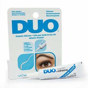 7 ml DUO Strip lash adhesive, d'adhésif pour cils en bandes & sourcils artificiels, résistant à l'eau, végétalien, colle pour faux cils