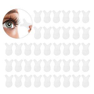 Brosse Cils cils, 50pcs Peignes Y en silicone en forme Brosse à cils jetables Extensions de cils Greffe Maquillage Beauté Outil