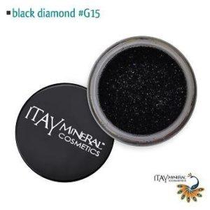 Itay Beaute Mineral Paillette Corps Black Diamond G15+Cala Pinceau Yeux OFFERT