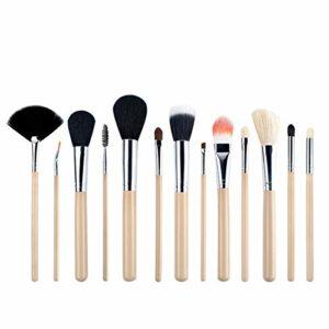 Blanc Pinceau de maquillage Ensemble de pinceau de réparation de la capacité de base de maquillage brillant en vrac pinceau à blush pinceau de beauté outils pour la fille que vous aimez