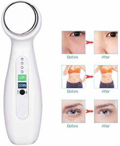 DDDXF Massage de Visage pour Le Visage, Instrument de Beaute ultrasonique de Vibration Amincissant Electrique blanchissant Le Masseur de Soins de la Peau d'ascenseur de Visage de rajeunissement