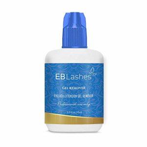 EB Lashes Professionnel remover extensions de cils pour l'élimination des cils pour une action rapide, dissout même le plus fort des faux cils en 60 secondes 15 ml