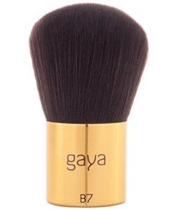 Gaya Cosmetics Pinceau Kabuki Maquillage Professionnelle Fond de Teint Vegan B7 – Outil Poudre Minérale Végan utile, pose précise & facile