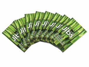 ibs – Lot de 50 feuilles absorbantes d'huile de charbon de bois et de bambou de qualité supérieure pour le visage-Formule de soin enrichi naturelle pour prévenir l'acné