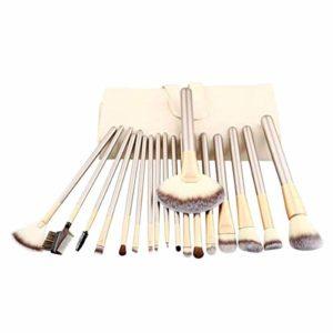 Lot de 18 outils de beauté en fourrure douce de haute qualité pour la fille que vous aimez