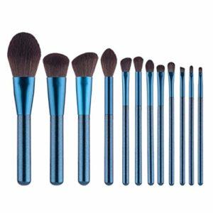 Maquillage Brosses 12pcs Pinceau de Maquillage Set synthétique Haut de Gamme Cheveux Fondation Blending Make Up Kit Brosses