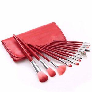 Rouge Long Manche Ombre à Paupières Pinceau Blush Pinceau à Sourcils Pinceau Beauté Outils de Beauté Outils Pour La Fille que vous aimez