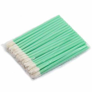 WENQU 500pcs / Unité De Maquillage Jetable Brosse À Lèvres Rouge À Lèvres Gloss Baguettes Applicatrices Outils De Maquillage Mode Conçu-Vert, 10pack En 1 Unité (Color : Green)
