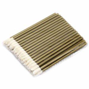 WENQU 500pcs / unité de maquillage jetables pinceau à lèvres rouge à lèvres gloss baguettes applicatrices outils de maquillage mode conçu-Brown, 10pack dans 1 unité (Color : Brown)