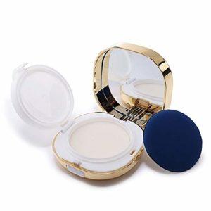 1 boîte à coussin d'air à bords carrés et rechargeables 15 ml – Pour maquillage – Pour fond de teint – Pour cosmétiques – Pour maquillage – Pour maquillage – Pour fond de teint, BB crème