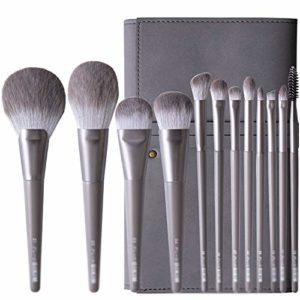 CLX 12 Ensembles de pinceaux de Maquillage, Un Ensemble Complet d'outils de Maquillage, pinceaux de Maquillage, brosses Ombre à paupières (sélectionné à Plusieurs reprises pour Une Bonne Brosse)