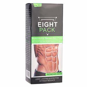 Crème amincissante Crème musculaire brûlante pour la graisse Crème anti-graisse corporelle longue durée, efficace et efficace pour huit personnes Crème sans rebond