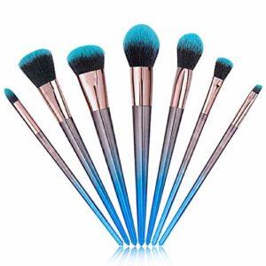Fond de teint liquide Correcteur Fond de teint liquide Crea 7 pinceau de maquillage fard à joues Ombre à paupières Brow Pencil Brosse à lèvres et