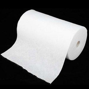 Tissu de serviette jetable respectueux de la peau, serviette de bain de pieds pour salon de beauté domestique
