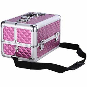 Zaq Multifonctionnel Tattoo Kit Beauté Cils manucure Choyez Portable Box Boîte à Outils ménagers Maquilleur cosmétiques Boîte de Rangement 35 * 24 * 22cm (Color : A, Size : 35 * 24 * 22cm)