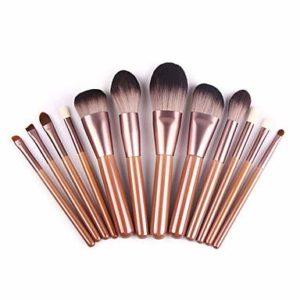 ZYC 1 Pièce Pinceaux à Maquillage Professionnel Fards à Paupières Set de Maquillage Pinceau Fard à Joues Pinceau Fond de Teint Pinceau de Maquillage Pinceau à Lèvres Brosse à Sourcils Pinceau Fard