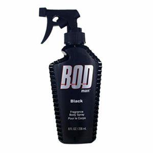 Bod Man Black de Parfums de Coeur Pour Homme Fragrance Corps Vaporisateur / 236 Ml