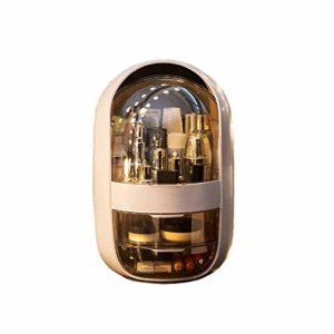 Boite de maquillage,boite de maquillage fille Pandora cosmétiques Boîte de rangement Commode Table Top Drawer rack Soins de la peau étanche de stockage Vasque Produit rack Masque Soin de la peau Prod