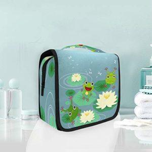 Grenouille Anima Trousse De Toilette Sac Pliable Suspendu Cosmétique Sac Rangement Maquillage sacs pour Voyage Femmes Filles