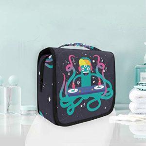 Pieuvre Drôle Trousse De Toilette Sac Pliable Suspendu Cosmétique Sac Rangement Maquillage sacs pour Voyage Femmes Filles