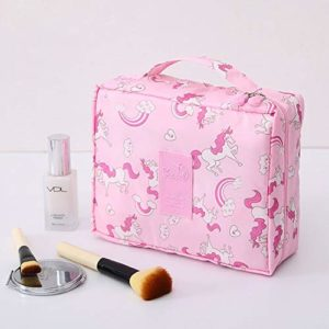 Sac cosmétique Voyage multifonction Neceser femmes maquillage Sacs de toilette Organisateur Waterproof Femme Stockage Maquillage Cases (Color : DF10)