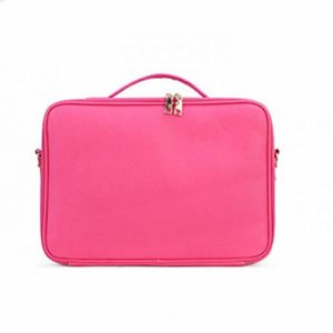 Trousse à Maquillage, Trousse à Maquillage, Trousse à Maquillage, Trousse De Beauté Grande Capacité Multi-Fonctions Double Rose Rouge