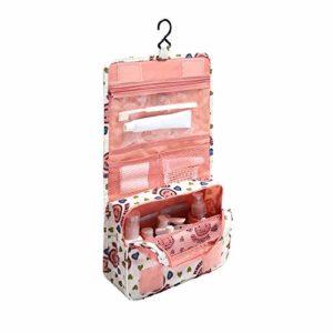 1pc Rose Makebag Sacs Hanging cosmétiques imperméable Grande Beauté Voyage Sac cosmétique hygiène personnelle Organisateur Sac