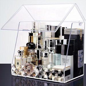 Boîtes Cosmétiques Beauté Maquillage Maquillage Des Ongles Vanity Case Jewerly Box Afficher Boîtes De Rangement Organisateur De Finition Boîtes Étagères Commodes Cosmétiques Soins De La Peau Produits