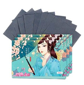 double-face sur le visage Oil Control Blotting Papers Maquillage Blotting Papers 300 feuilles (E)