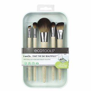 Eco Tools Start the Day Ensemble de Pinceaux de Maquillage