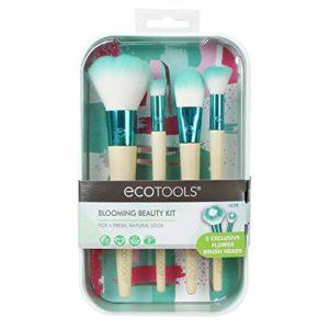 Ecotools Blooming Beauté Lot de pinceaux de maquillage, fleur