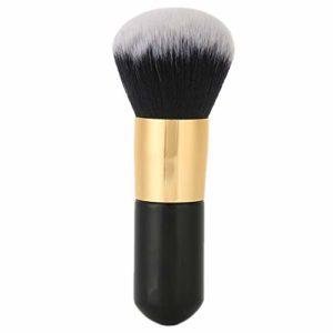 Grande brosse en poudre libre brosse de fond de teint doux cheveux longs blush outil cosmétique humide-sec pour fard à paupières, sourcils, eye-liner, mélange