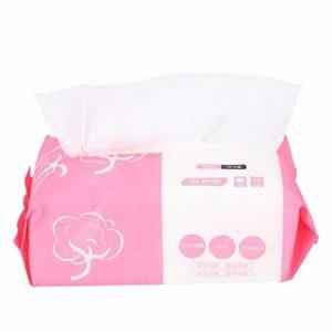 HGY de Face 100pcs Tissu Serviette de Maquillage du Visage tampons de Coton Gant de Toilette (20 x 20cm)