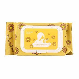 Lingettes démaquillantes Lingettes démaquillantes sans huile Nettoyage de la peau Lingettes sèches douces Tampon en coton Maquillage du visage Enlèvement des tissus pour peaux sensibles