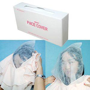 Masque jetable pour vêtements de maquillage, masque
