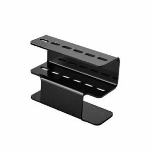Minkissy Support pour pinces à épiler en acrylique durable pour extensions de cils Blanc